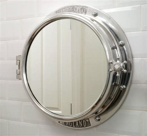 Porthole Mirrored Medicine Cabinet Uk by Ahoy Land Introducing The Porthole Mirror And