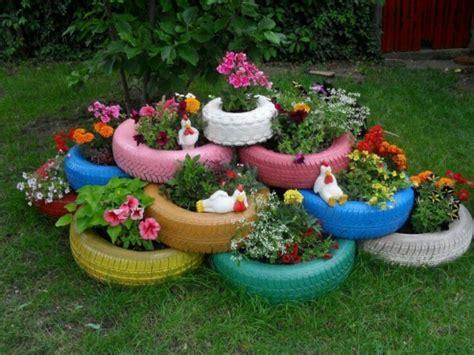Garten Deko Autoreifen by Gartendeko Selber Machen Verwenden Sie Alte Autoreifen