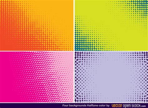 download vector halftone background free
