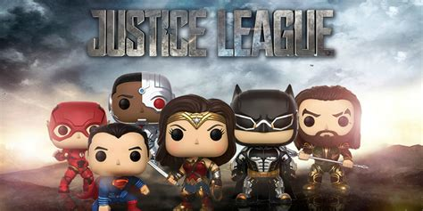 justice league funko figures revealed screen rant