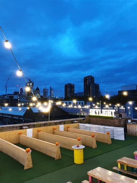 review  skylight rooftop bar  tobacco dock london  rooftop guide