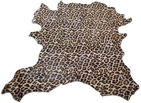 Leopard Cowhide Rug by Mini Leopard Printed Cowhide Rug E 230 Size 38 Quot X 30