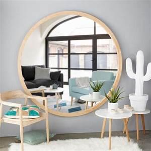 Grand Miroir Maison Du Monde : miroir rond maison du monde miroir soleil pas cher rond ~ Nature-et-papiers.com Idées de Décoration