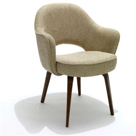 Eero Saarinen Executive Armchair by Saarinen Executive Arm Chair Wood Legs Modern Furniture