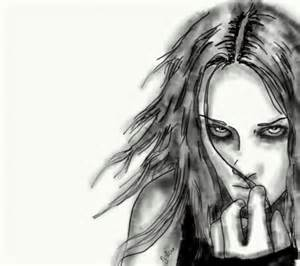 Evil Person Drawing