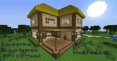 equestria build series city cottage minecraft map