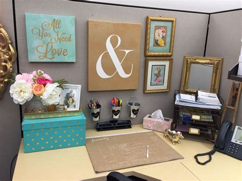 office desk decorations cubicle decor organization in 2019 office cubicle