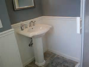 artistic bathroom pedestal sinks for small spaces including handle single faucet