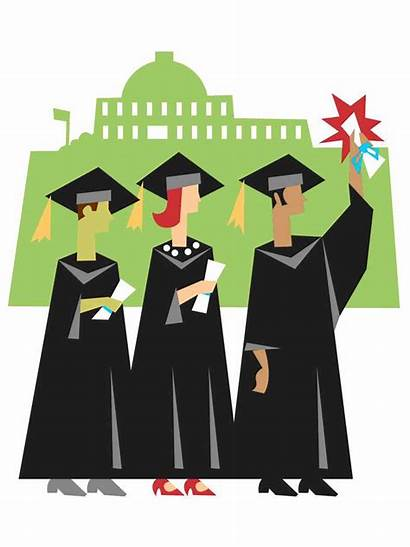 College Clip Clipart Student Studying University Graduate