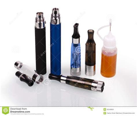 Bid Electronics Electronic Cigarette E Cigarette Royalty Free Stock Images