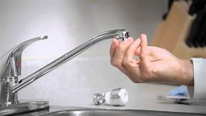 how to install a faucet aerator youtube With how to remove aerator from bathroom faucet
