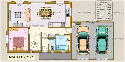 plan maison 4 chambres gratuit davaus plan maison bois moderne gratuit avec des