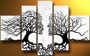 15+ Nice Black and White Wall Decor Ideas - Homeideasblog com