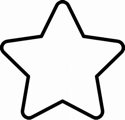 Star Outline Icon Svg Shapes Stars Abs