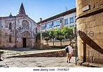 Praza do Campo square at the old town of Lugo city ...