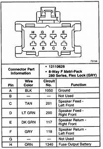 Do You Have Wiring Diagram For A Bose System From A Envoy