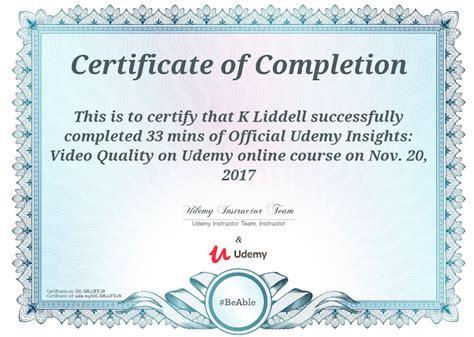 certificate udemy certificates templates