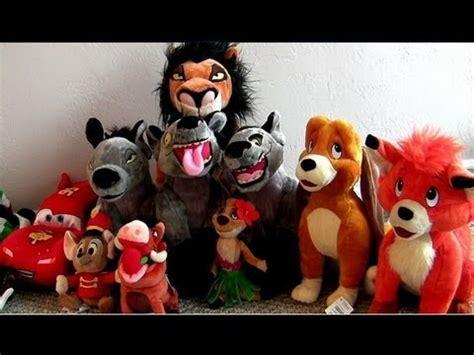 disneystore lion king hyenas plush  fox   hound