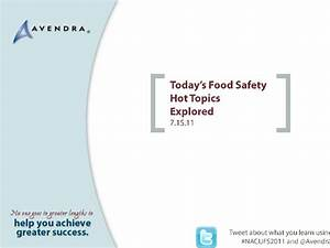 Today's food safety hot topics explored