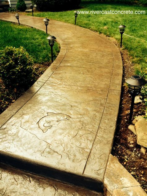 Stamped Concrete Designs   RiverCast Concrete
