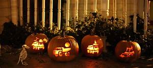 Carve Some Construction Equipment Into Your Pumpkins Via