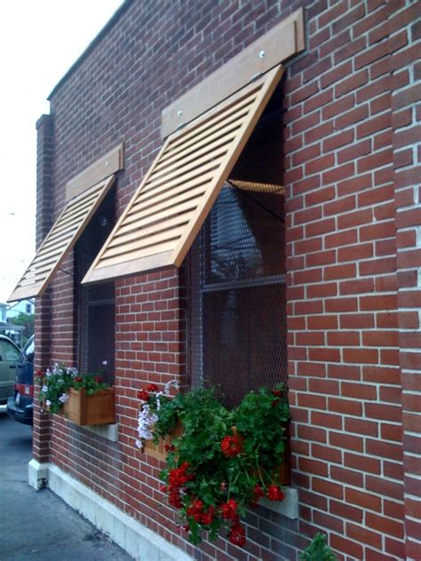 solid wood window awnings  crestview doors home crafts diy awnings pinterest window