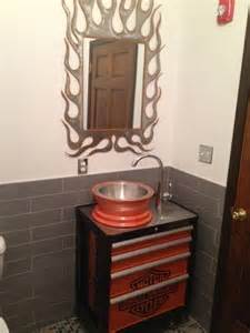 my client the river church s harley bathroom with the