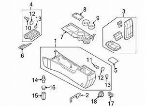 Mercury Milan Console Lid  Console  U0026 Components  Light