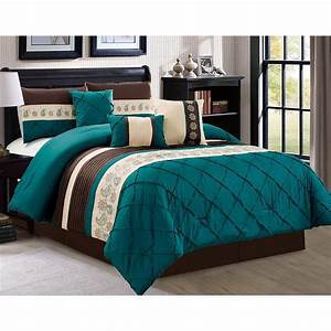 Oversize, 7, Count, Luxury, Embroidery, Bed, In, Bag, Microfiber