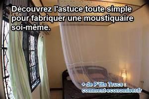 Faire Une Moustiquaire : comment fabriquer une moustiquaire ~ Premium-room.com Idées de Décoration