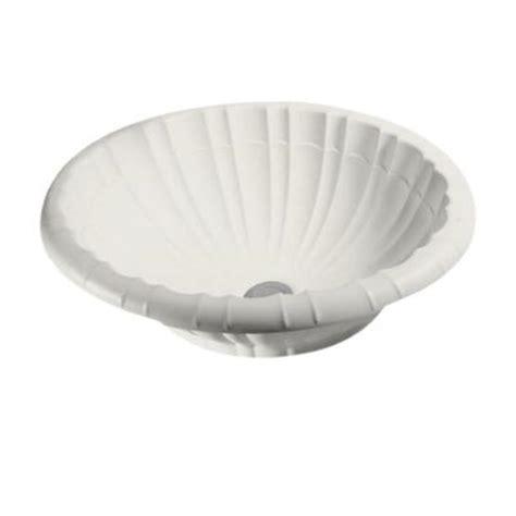 swan islandia self rimming bathroom sink bowl in bisque