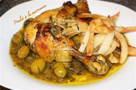 site de cuisine marocaine cuisine marocaine au poulet