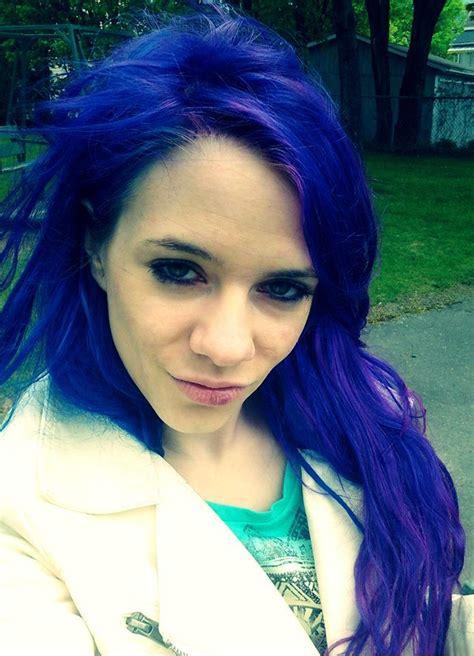 Blue Hair With Splat Blue Envy Blue Hair Color Hair