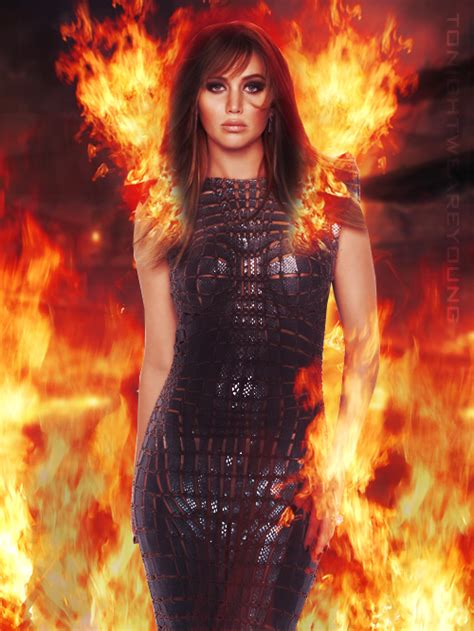 Katniss Everdeen  The Girl On Fire By Tonightweareyoung