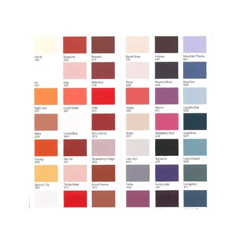 The Colour by Teknos Colour Mode Colour Card For Interior And Exterior