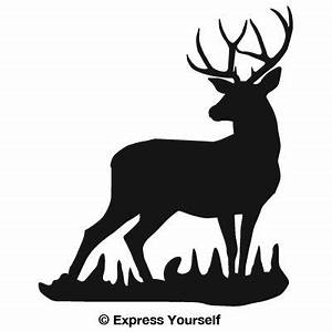 Mule Deer Buck Decal