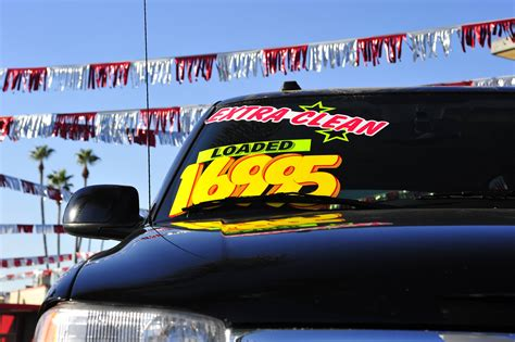 Used Car Prices Falling Amid Stock Overflow