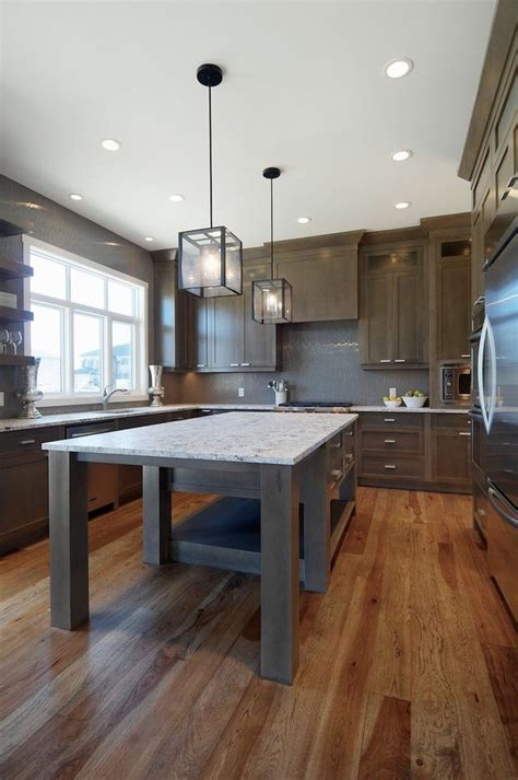 grey stained maple kitchen contemporary with maple
