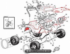 Power Wheels Lil Wrangler Parts