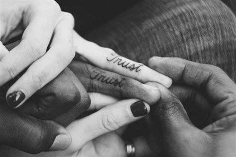 ring finger tattoos  couples tops style