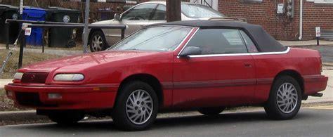 93 Chrysler Lebaron by File 93 95 Chrysler Lebaron Convertible Jpg Wikimedia