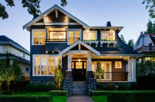 House Style Point Grey Craftsman Craftsman Exterior Vancouver By Rockridge Homes