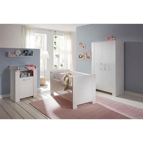 Miri Chambre Bébé Complète  Lit 70x140 Cm + Armoire