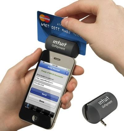 credit card swiper for iphone intuit gopayment introduces credit card reader for ios Credi