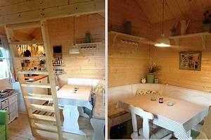 Sitzecke Für Küche : gartenhaus bunkie 40 gelungener aufbau und einrichtung ~ Sanjose-hotels-ca.com Haus und Dekorationen