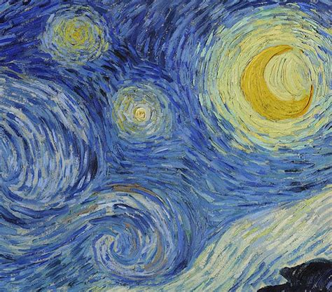 Starry Night, An Iconic Piece Of Postimpressionism By Van