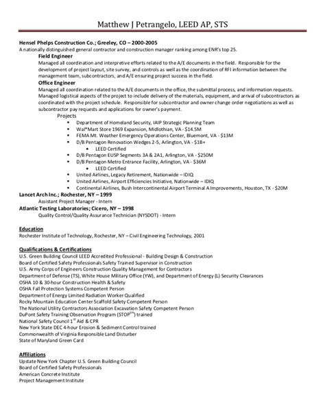 It Contractor Resume by General Contractor Resume Berathen