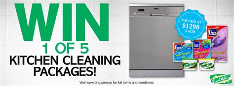 bhg win better homes and gardens win a kitchen cleaning package