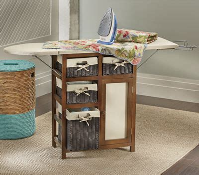 Ironing Board Cabinet With Storage by Ironing Board Storage Cabinet From Through The Country