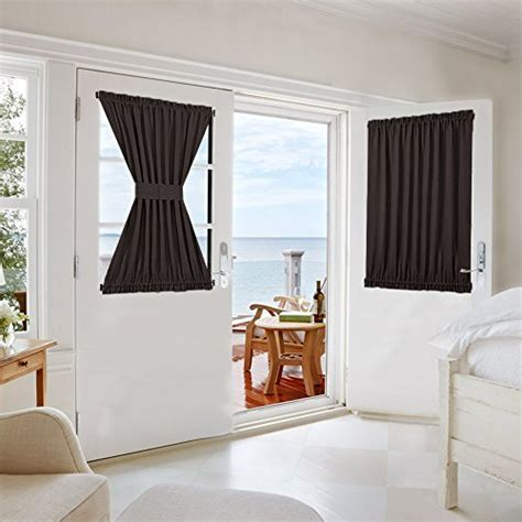 Patio Thermal Drapes - curtain panel for door thermal patio 54x40 quot brown